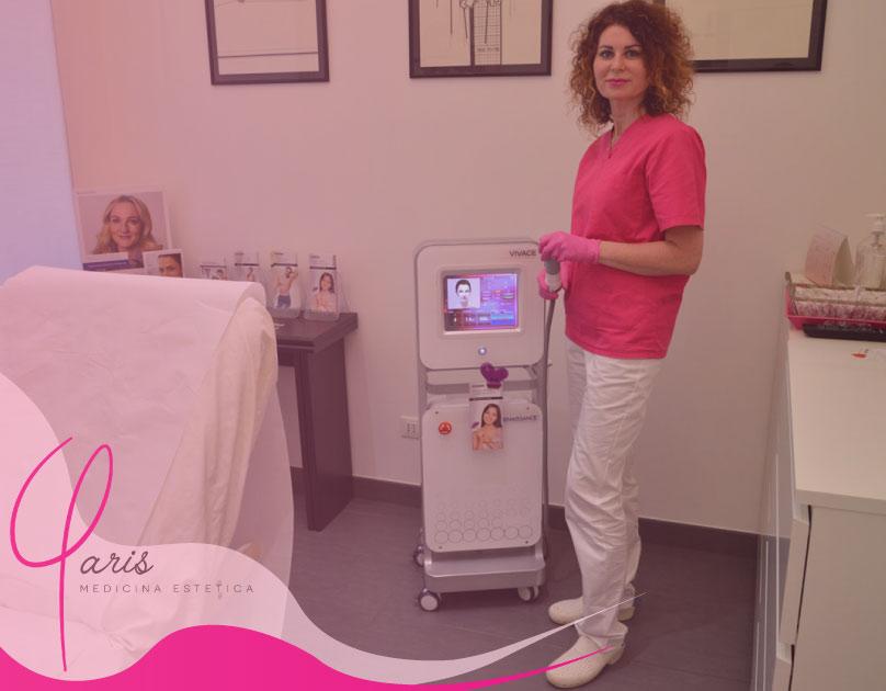 Radiofrequenza viso | Studio Medico Viviana Paris